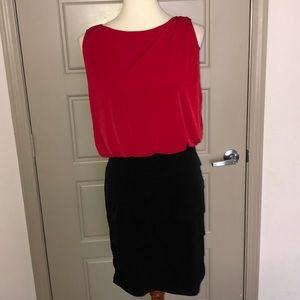 Enfocus Studio Red/Black dress